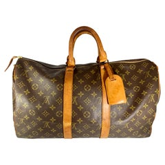 Louis Vuitton Vintage  Keepall Bag Monogram Canvas 45