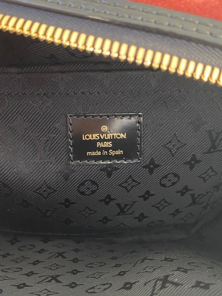 Louis Vuitton Vintage Limited Edition Havane Bowling Trunk Bag For Sale 8