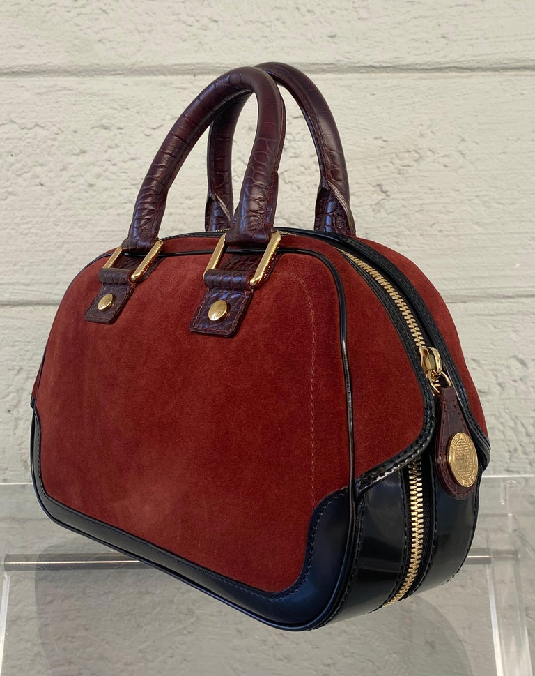 Brown Louis Vuitton Vintage Limited Edition Havane Bowling Trunk Bag For Sale