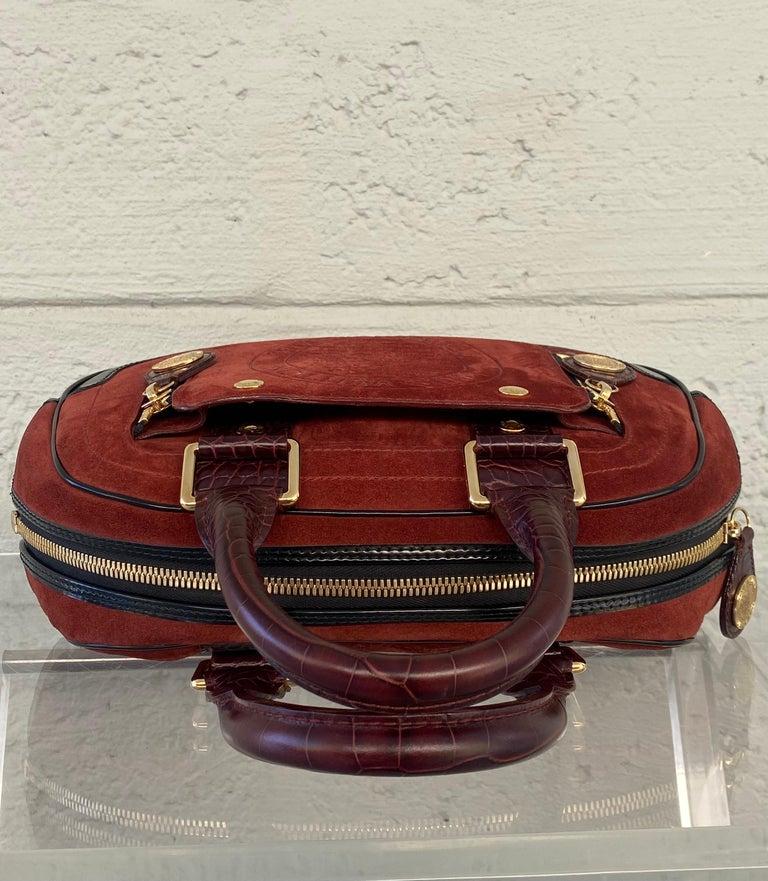 Women's or Men's Louis Vuitton Vintage Limited Edition Havane Bowling Trunk Bag For Sale