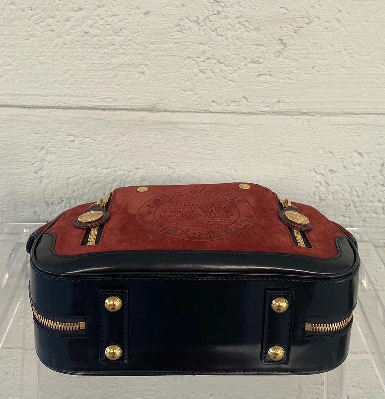 Louis Vuitton Vintage Limited Edition Havane Bowling Trunk Bag For Sale 1