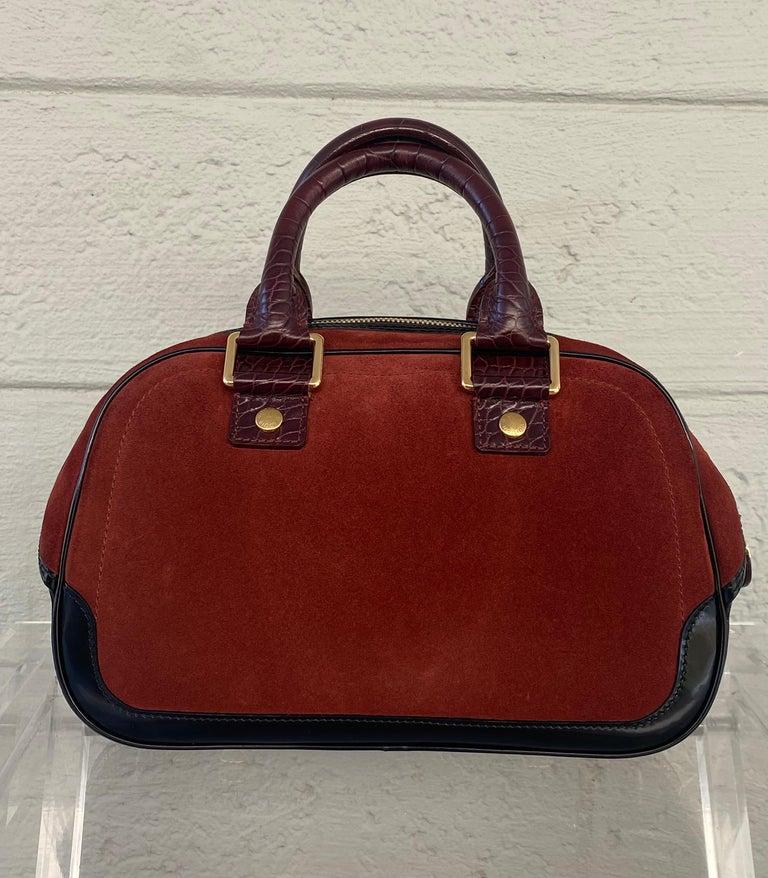 Louis Vuitton Vintage Limited Edition Havane Bowling Trunk Bag For Sale 2