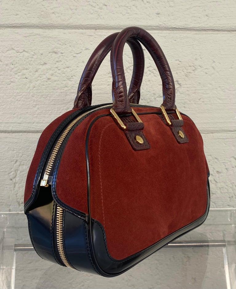 Louis Vuitton Vintage Limited Edition Havane Bowling Trunk Bag For Sale 3