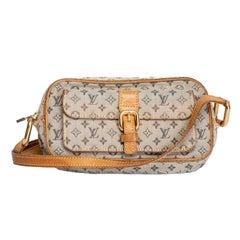 Louis Vuitton Vintage Mini Lin Juliette Crossbody Bag (TH0030)