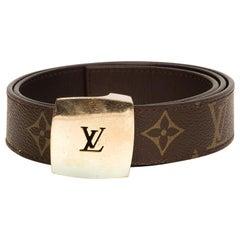 Louis Vuitton Vintage Monogram Belt Pull Buckle (Size 80/32)
