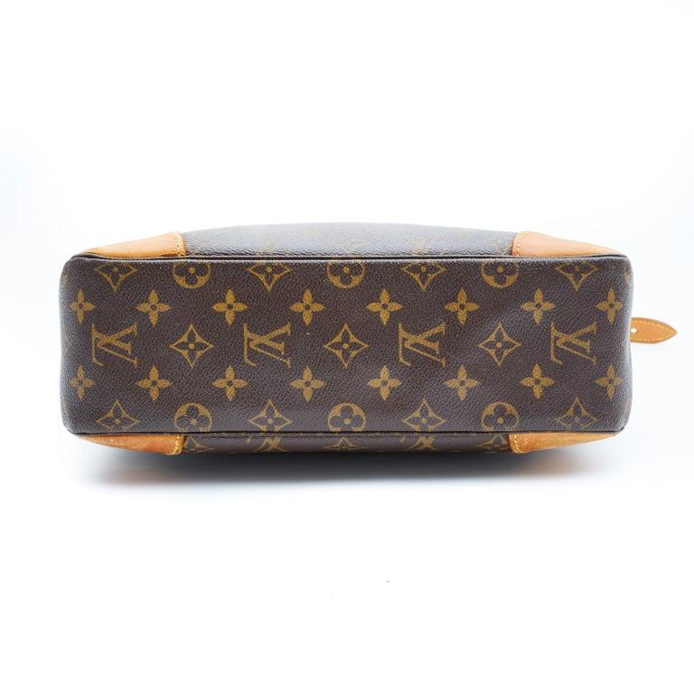 Black Louis Vuitton Vintage Monogram Boulogne Shoulder Bag (1998) For Sale
