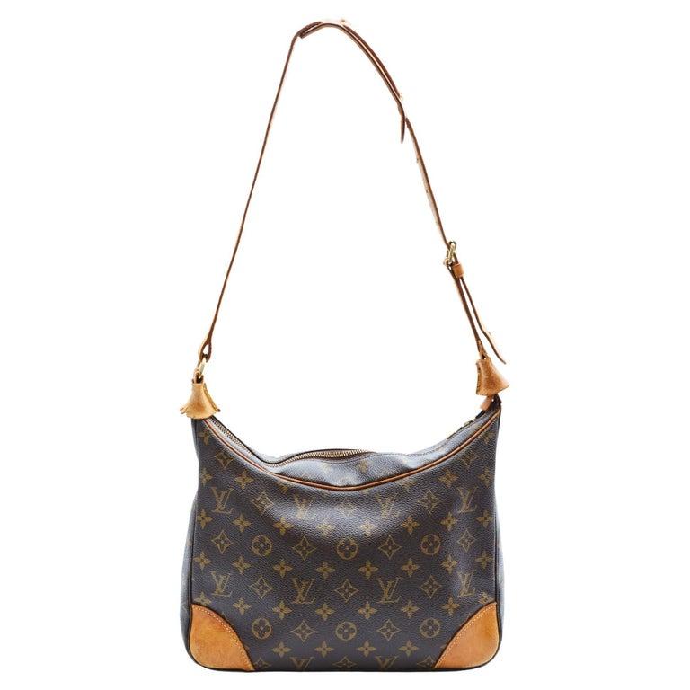 Louis Vuitton Vintage Monogram Boulogne Shoulder Bag (1998) For Sale