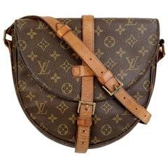 Louis Vuitton Vintage Monogram Canvas Chantilly GM Messenger Bag