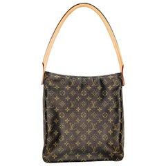 Louis Vuitton Vintage Monogram Canvas Looping GM Shoulder Bag