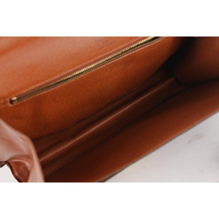 Louis Vuitton Vintage Monogram Canvas Monceau 28 Messenger Bag For Sale 7