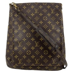Louis Vuitton Vintage Monogram Canvas Musette Flap Messenger Bag