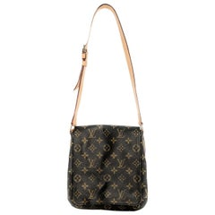 Louis Vuitton Vintage Monogram Canvas Musette Tango Messenger Bag