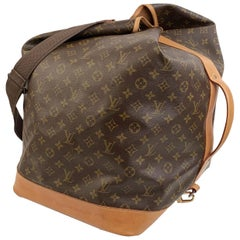 Louis Vuitton Vintage Monogram Canvas Sac Marin Travel Bag