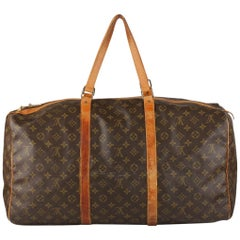 Louis Vuitton Vintage Monogram Canvas Sac Souple 55 Travel Bag