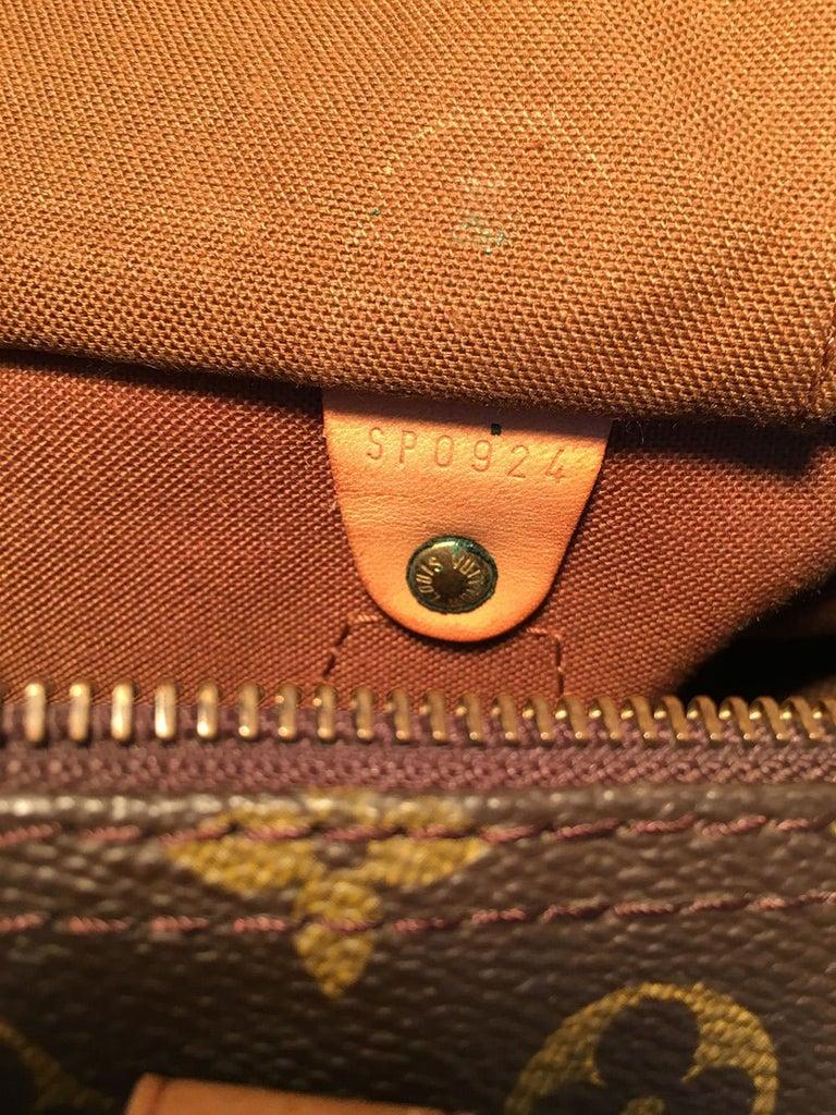 Louis Vuitton Vintage Customized Hand Painted Wine Grapes Speedy 30 Handbag For Sale 4
