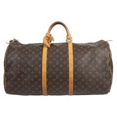Louis Vuitton Vintage Monogram Keepall Travel Bag