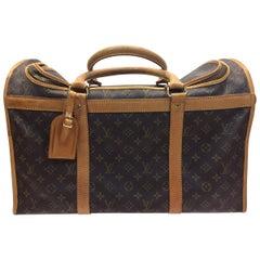 Louis Vuitton Vintage Monogram Leather Dog Carrier