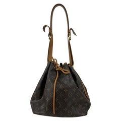 Louis Vuitton Vintage Monogram Petit Noe Shoulder Bag with Defects