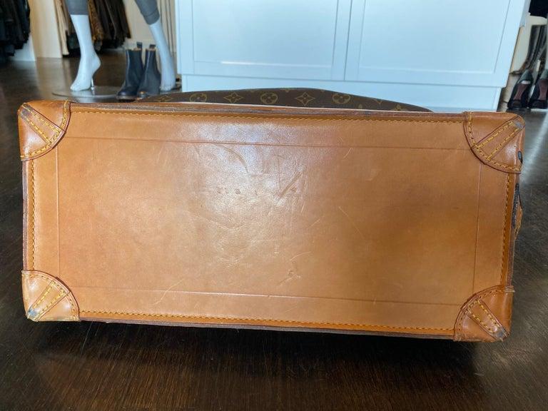 Louis Vuitton Vintage Monogram Steamer Bag For Sale 5