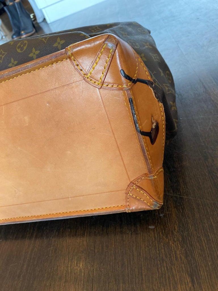 Louis Vuitton Vintage Monogram Steamer Bag For Sale 6
