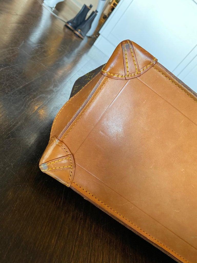 Louis Vuitton Vintage Monogram Steamer Bag For Sale 7