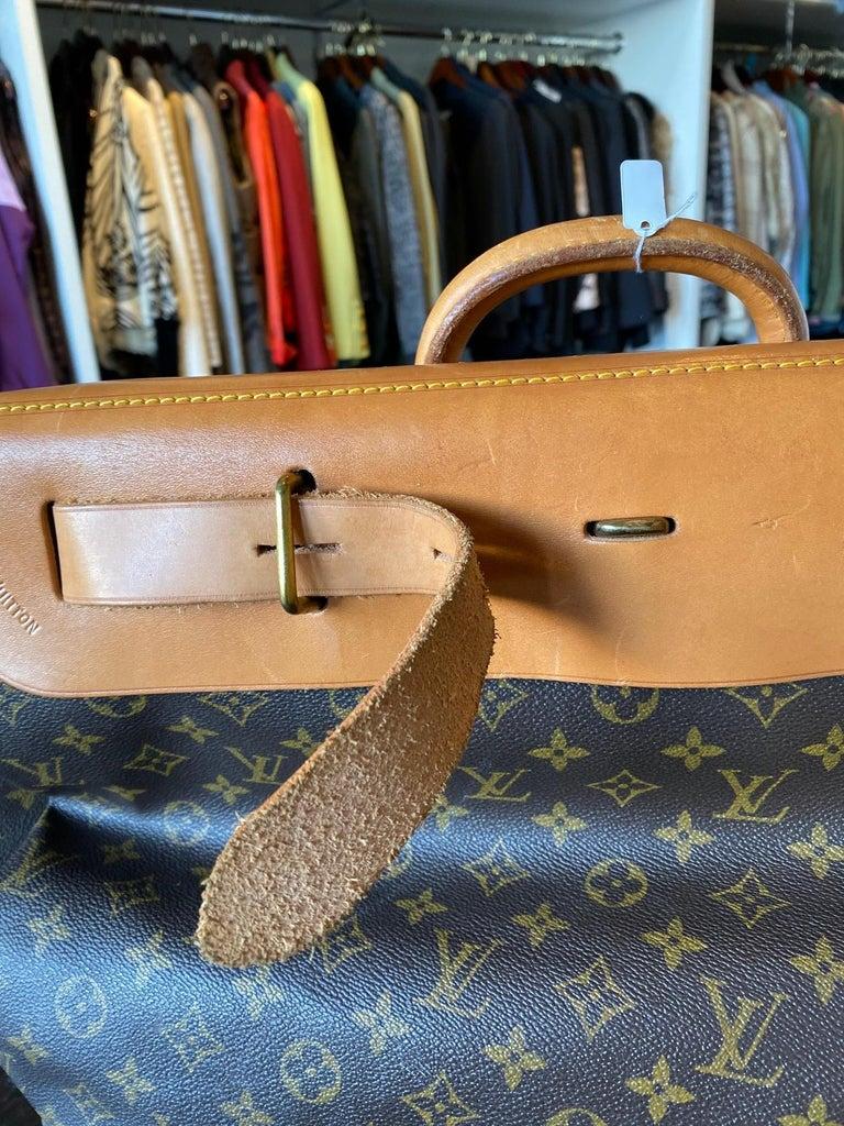 Women's or Men's Louis Vuitton Vintage Monogram Steamer Bag For Sale