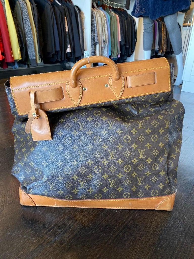 Louis Vuitton Vintage Monogram Steamer Bag For Sale 2