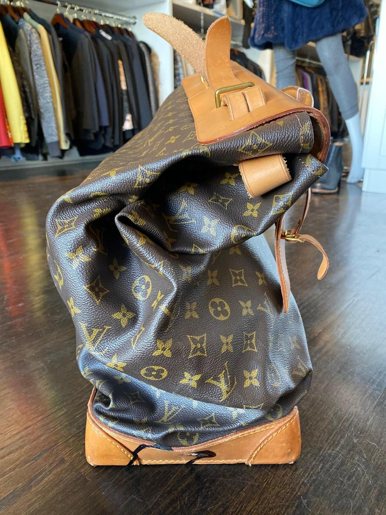 Louis Vuitton Vintage Monogram Steamer Bag For Sale 3
