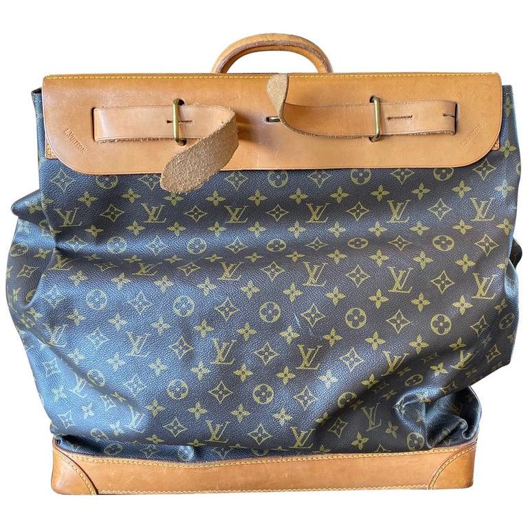 Louis Vuitton Vintage Monogram Steamer Bag For Sale