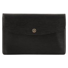 Louis Vuitton Vintage Montaigne Clutch Epi Leather