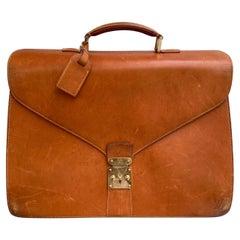Louis Vuitton Vintage Nomade Leather Briefcase