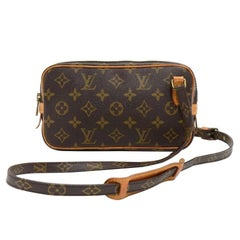 Louis Vuitton Vintage Pochette Marly Bandouliere Monogram Canvas Shoulder Bag