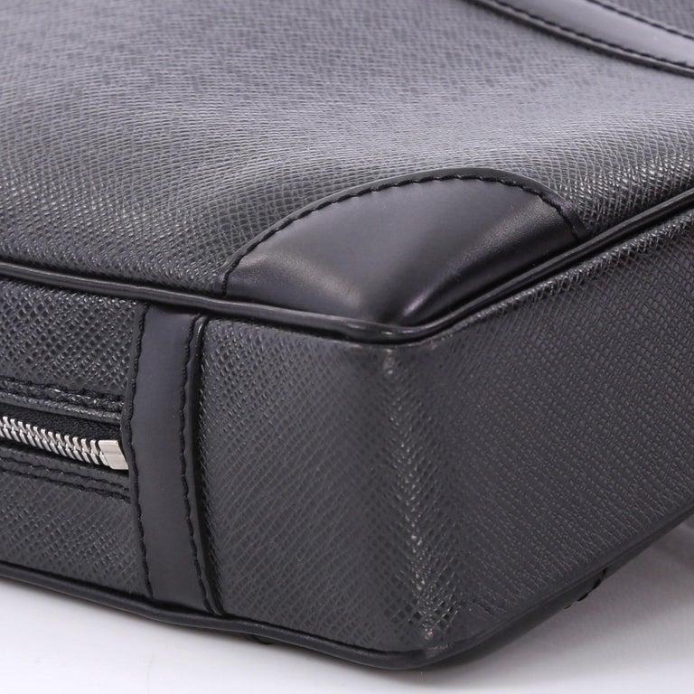 f81426450dcb Louis Vuitton Vintage Porte-Documents Business Bag Taiga Leather
