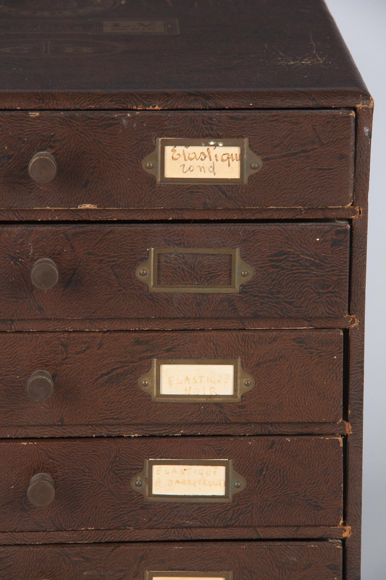 19th Century French Seamstress Storage Box For Sale 3