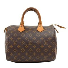 Louis Vuitton Vintage Speedy 25 Monogram Canvas City Hand Bag