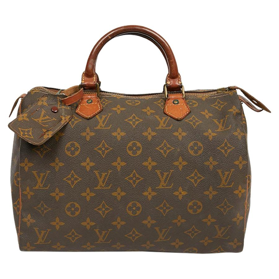 LOUIS VUITTON Vintage Speedy 30 Monogram Bag