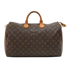 Louis Vuitton Vintage Speedy 40 Monogram Canvas Hand Bag