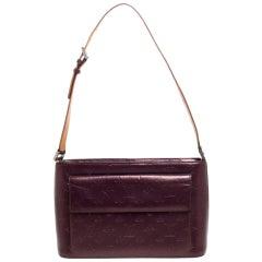 Louis Vuitton Violet Monogram Mat Leather Allston Bag