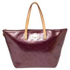 Louis Vuitton Violette Monogram Vernis Bellevue GM Bag