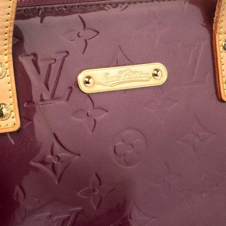 Louis Vuitton Violette Monogram Vernis Bellevue PM Bag 5