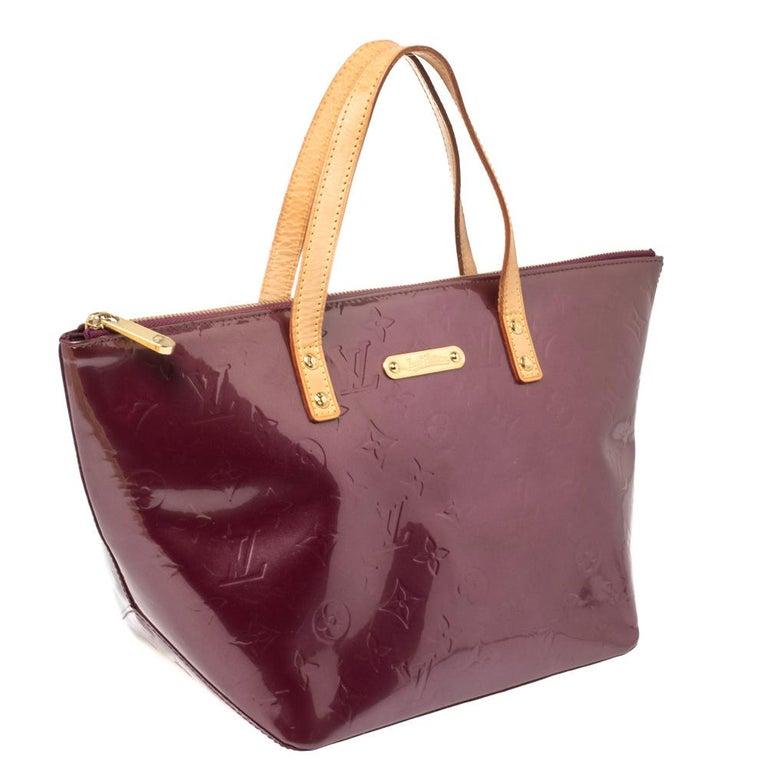 Louis Vuitton Violette Monogram Vernis Bellevue PM Bag 6