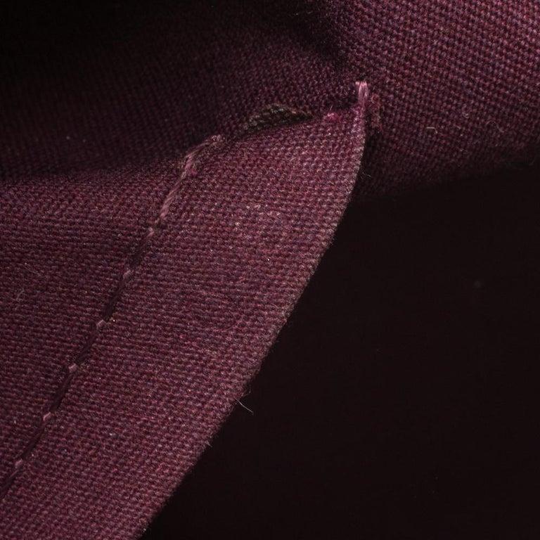 Louis Vuitton Violette Monogram Vernis Bellevue PM Bag 1