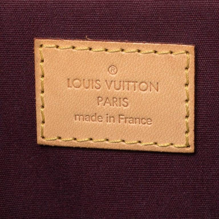 Louis Vuitton Violette Monogram Vernis Bellevue PM Bag 2