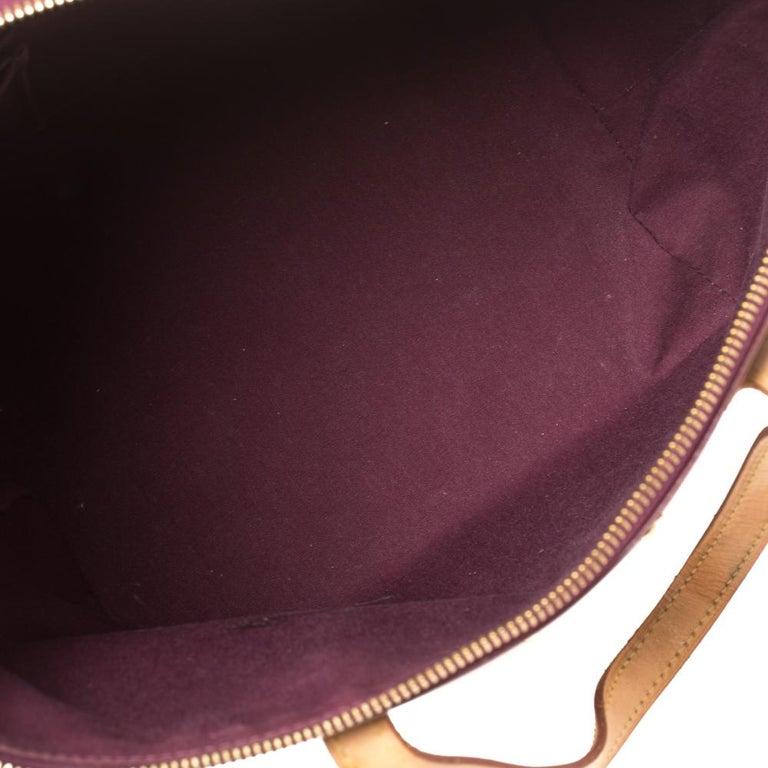Louis Vuitton Violette Monogram Vernis Bellevue PM Bag 3