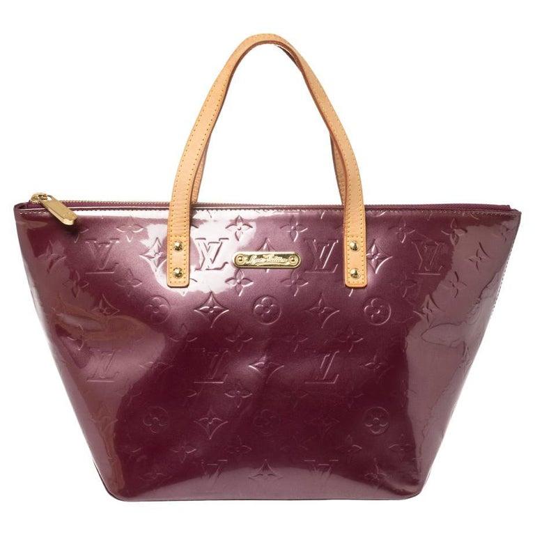 Louis Vuitton Violette Monogram Vernis Bellevue PM Bag