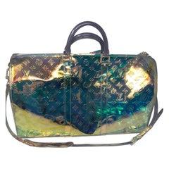 Louis Vuitton Virgil Abloh Prism Keepall Bandouliere