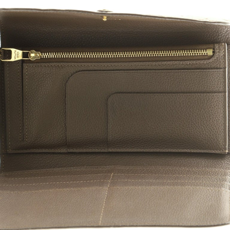 Women's or Men's Louis Vuitton Virtuose Wallet Monogram Empreinte Leather