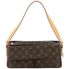 Louis Vuitton Viva Cite Handbag Monogram Canvas MM
