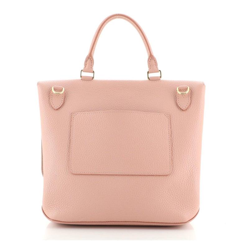 Beige Louis Vuitton Volta Handbag Leather For Sale
