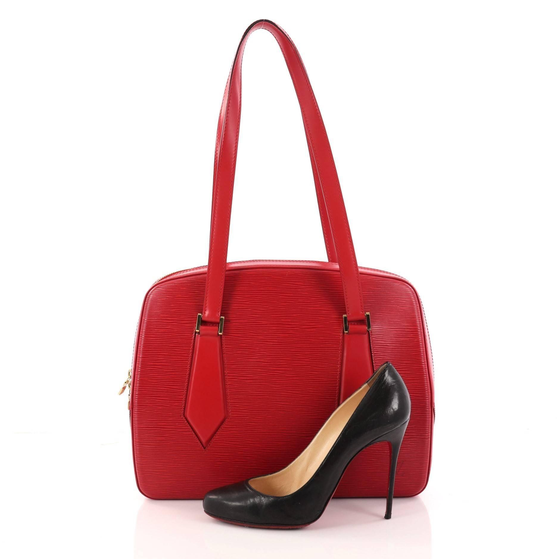 Louis Vuitton Voltaire Handbag Epi Leather ZHicqzs5